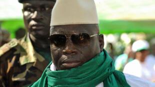 رئيس غامبيا يحيى جامع