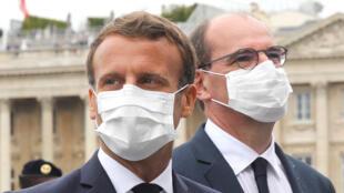Macron - Castex