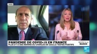 2020-04-16 11:03 Comment s'est déclenchée l'épidémie de Covid-19 à bord du porte-avion Charles-de-Gaulle ?
