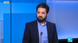 Wassim Nasr, journaliste spécialiste des questions jihadistes, sur le plateau de France 24.