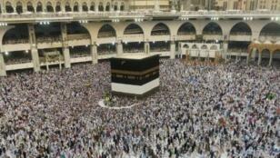 موسم الحج في مكة المكرمة في السعودية