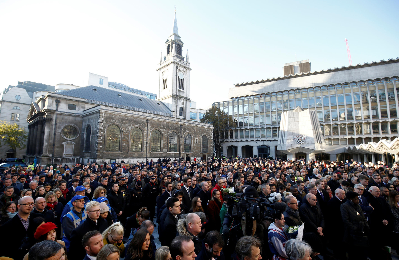 vigil London bridge attack