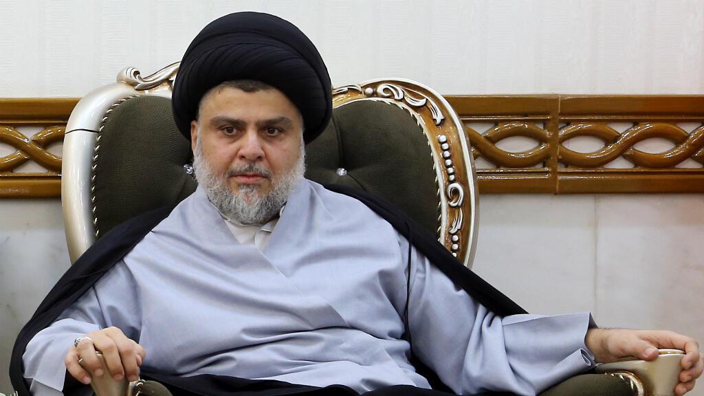 Moqtada al-Sadr, le 23 juin 2018, à Najaf.