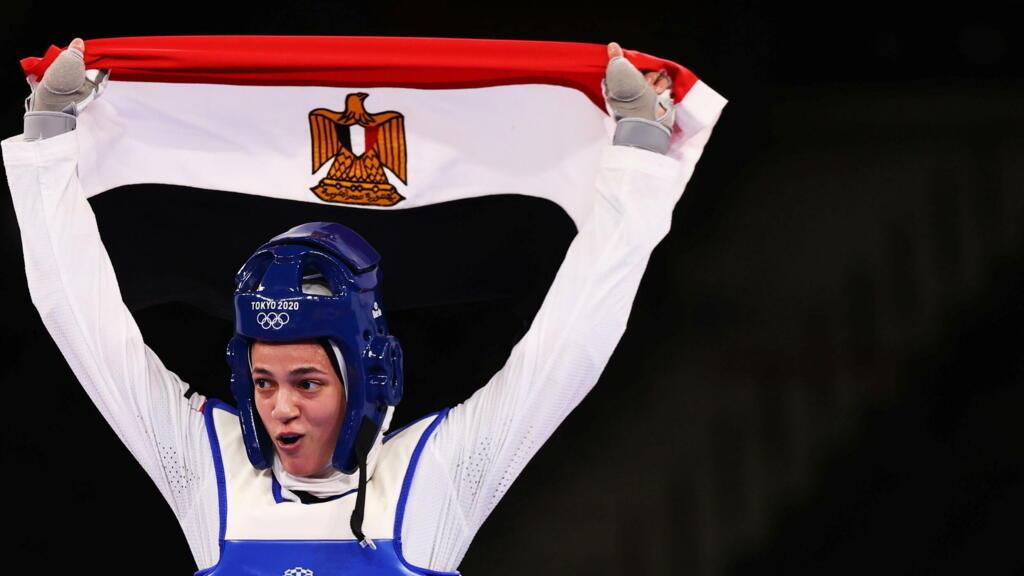 أولمبياد طوكيو: لاعبا التايكواندو هداية ملاك وسيف عيسى يهديان مصر ميداليتين برونزيتين