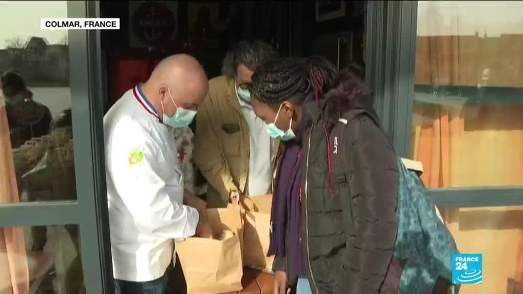 2021-02-25 06:06 Pandémie de Covid-19 en France : des restaurateurs étoilés au secours des étudiants