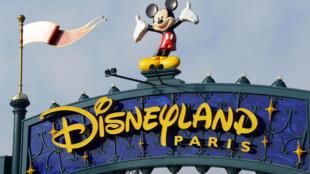 Disneyland Paris in Marne-la-Vallée, France, in 2015.