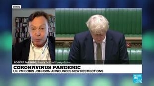 2020-10-12 18:11 Coronavirus pandemic: UK PM Johnson sets out three-tier system of lockdown measures