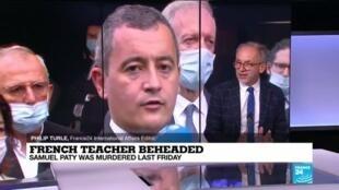 2020-10-19 16:01 French teacher beheaded: police raid Islamist groups after teacher's beheading