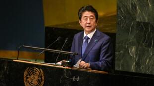À la tribune de l'ONU, le Premier ministre japonais Shinzo Abe s'est dit prêt à une rencontre avec le leader nord-coréen Kim Jong-un.