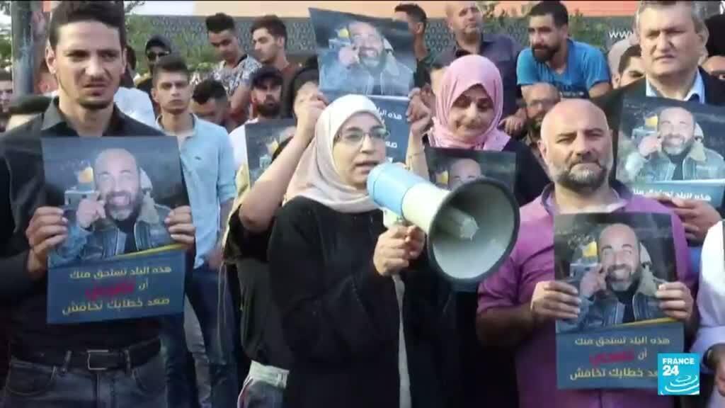 2021-06-28 14:11 Manifestation en Cisjordanie : colère contre l'Autorité palestinienne de Mahmoud Abbas