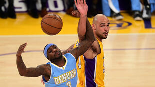 Ty Lawson (L) used to play for the Denver Nuggets in the NBA