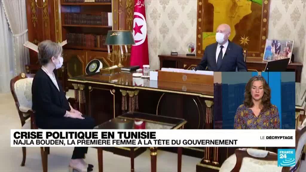 2021-09-30 08:38 Crise politique en Tunisie : une femme, Najla Bouden, chargée de former le gouvernement
