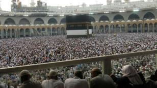 Plus d'un million de fidèles sont déjà présents à La Mecque à quelques jours du grand pèlerinage, le 6 septembre 2016.