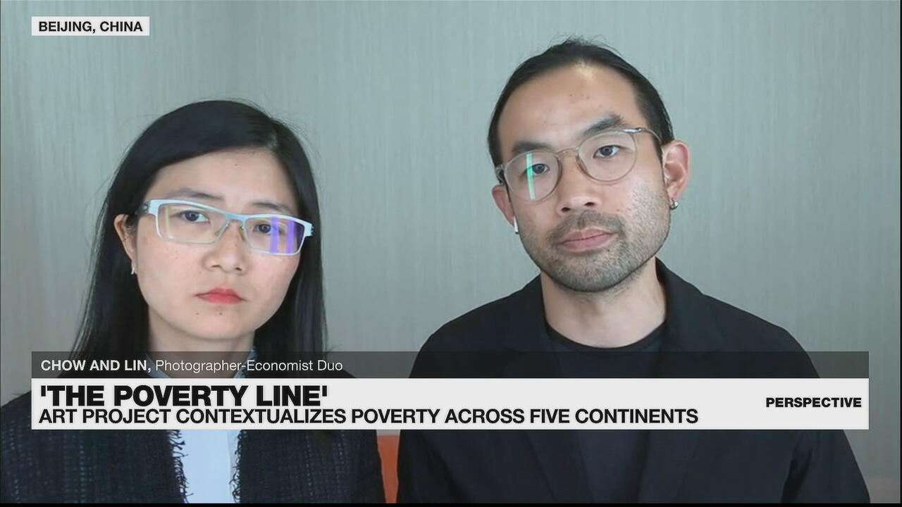 Perspective - Art meets economics in 'The Poverty Line' by Chow and Lin