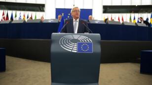 Le président de la Commission européenne Jean-Claude Juncker a dévoilé sa vision du futur de la zone euro.