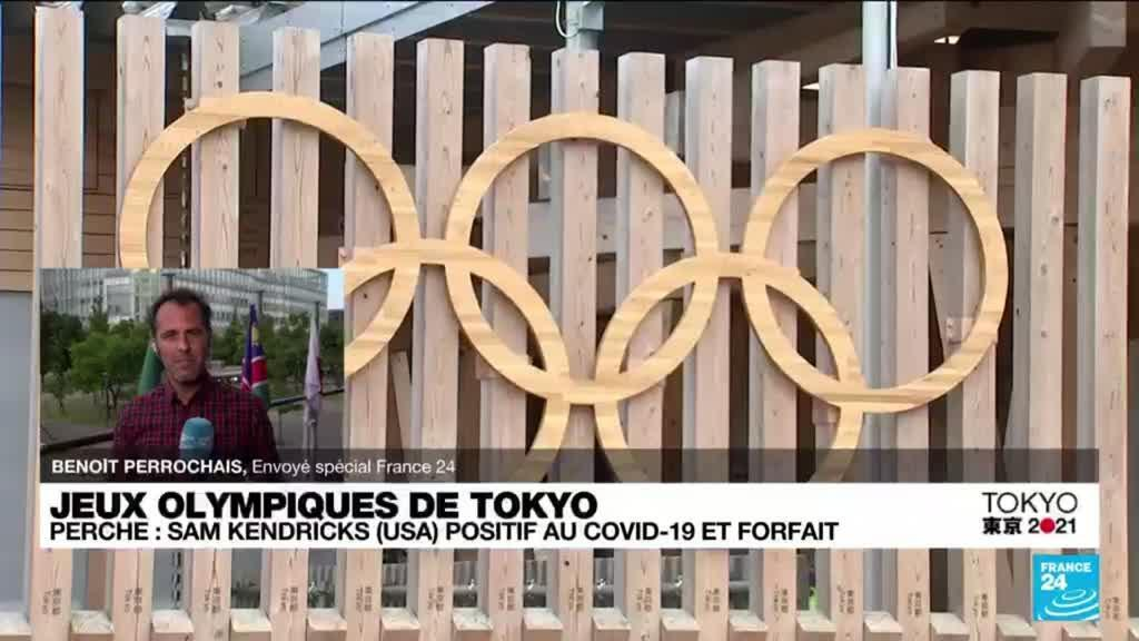 2021-07-29 11:06 JO de Tokyo : le sportif américain Sam Kendricks positif au Covid-19 et forfait