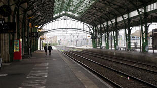En gare de Perpignan, le 8 avril 2018.
