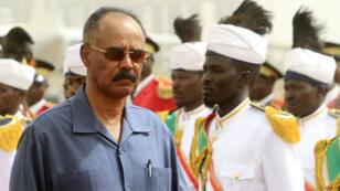 رئيس إريتريا إيسايس أفورقي