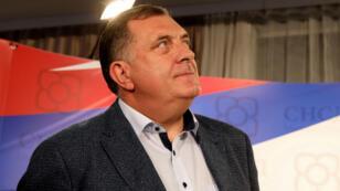 Milorad Dodik à Banja Luka le 7 octobre 2018.