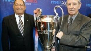 ريمون كوبا (يمين) قال إن تجربته مع ريال مدريد أفضل مرحلة في مسيرته الرياضية.