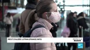 2020-04-23 11:00 En France, l'Académie de médecine prône le port du masque pour tous