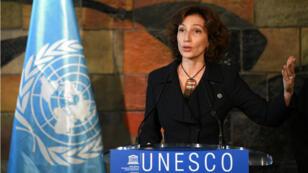 La directrice générale élue de l'Unesco, Audrey Azoulay, s'est exprimée suite à son élection vendredi 10 novembre.