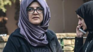 خديجة جنكيز، خطيبة الصحافي السعودي جمال خاشقجي.