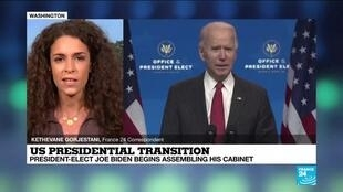 2020-11-24 17:01 US Presidential transition: President-elect Joe Biden begins assembling his Cabinet