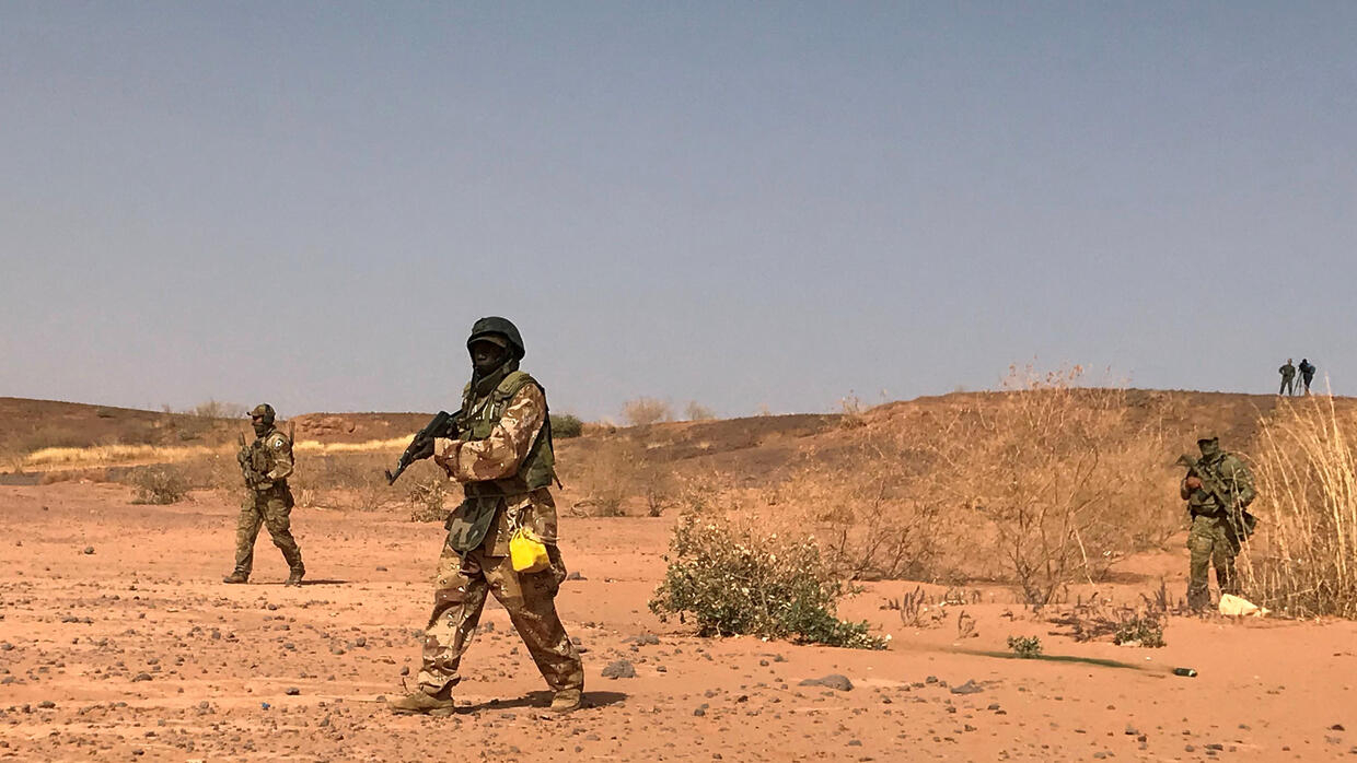Niger authorities say 14 troops killed during ambush
