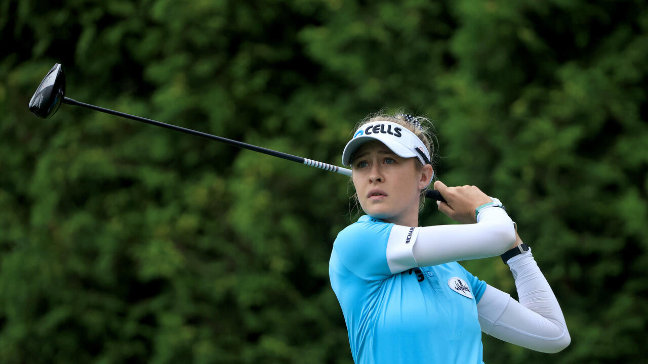 Image New No. 1 Korda wants to 'stay the same' ahead of Evian Championship
