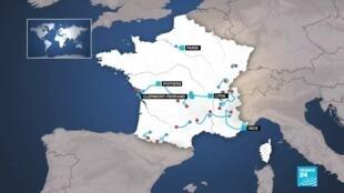 2020-08-29 13:07 Tour de France : des mesures sanitaires durcies