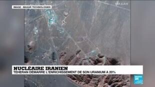 2021-01-04 13:09 Nucléaire iranien : Téhéran démarre l'enrichissement de son uranium à 20 %