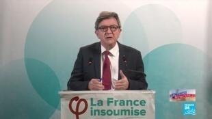 """2020-06-28 20:48 """"La masse du peuple français est en grève civique"""" : Jean-Luc Mélenchon"""