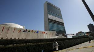 Les Nations unies, à New York.