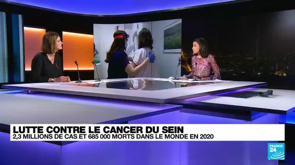 """2021-10-19 22:04 Lutte contre le cancer du sein : """"la qualité de vie devient la priorité du traitement"""""""