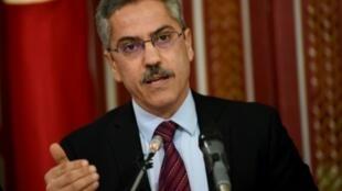 شفيق صرصار رئيس الهيئة العليا المستقلة للانتخابات في تونس في 3 نيسان/أبريل 2017