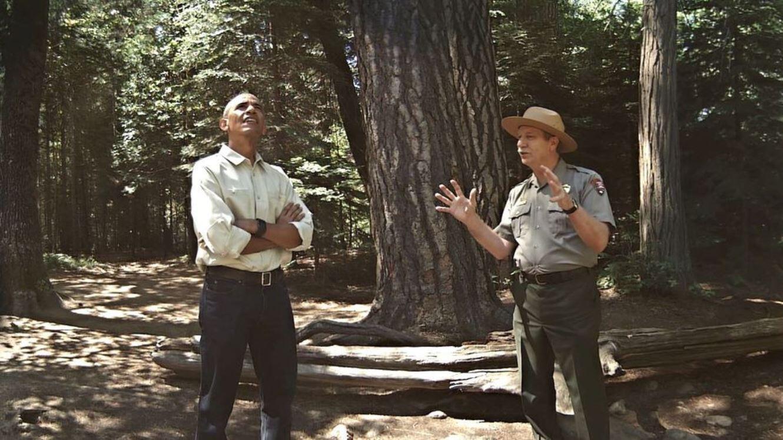 Quand Obama visite le parc national de Yosemtie en même temps que nous, forcément, on écoute.