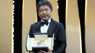 """Le Japonais Hirokazu Kore-Eda a remporté la Palme d'or pour """"Une affaire de famille""""."""