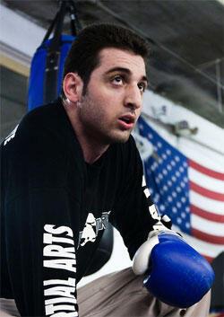 Tamerlan Tsarnaev (crédit : capture d'écran du site de Johannes Hirn)