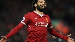 مهاجم ليفربول الإنكليزي والمنتخب المصري محمد صلاح