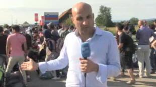 عبد الله ملكاوي موفد فرانس 24 إلى كرواتيا