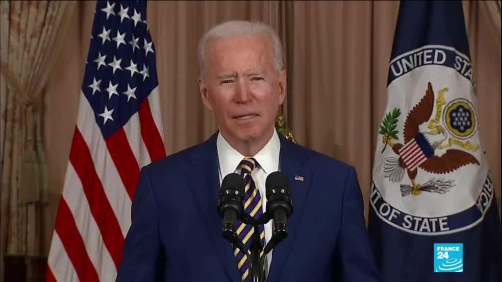 2021-02-05 11:37 Biden marks u-turn in US Foreign Policy receiving more refugees, halting troops retreat from Germany