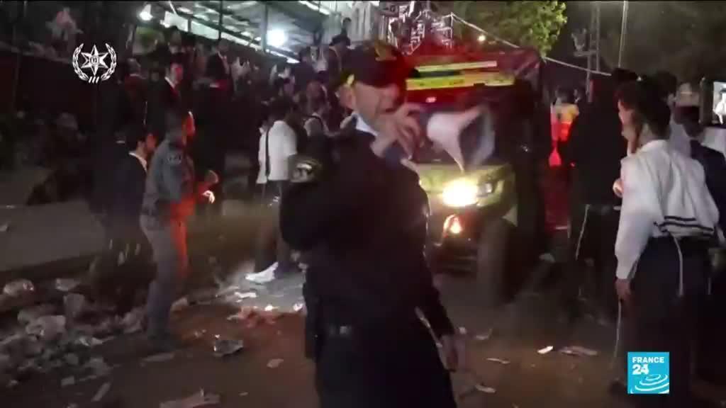 2021-04-30 13:08 Israël : des dizaines de morts dans une bousculade lors d'un pèlerinage orthodoxe