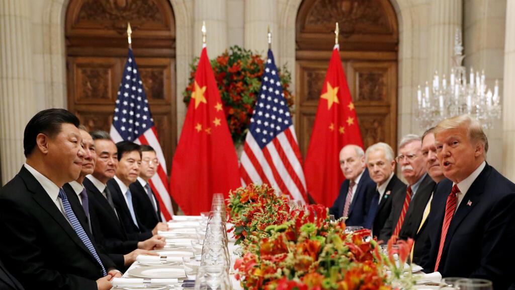 Los presidentes de Estados Unidos y China sostuvieron una cena de trabajo en las que discutieron, entre otros temas, sobre la tensión comercial por los aranceles.