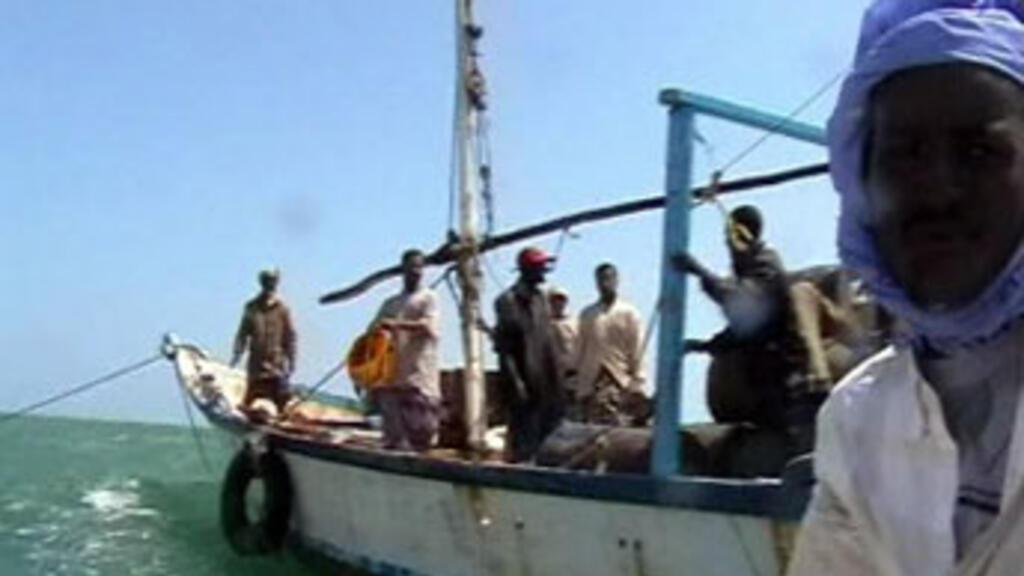 Seychelles coastguard vessel rescues fishermen from Somali