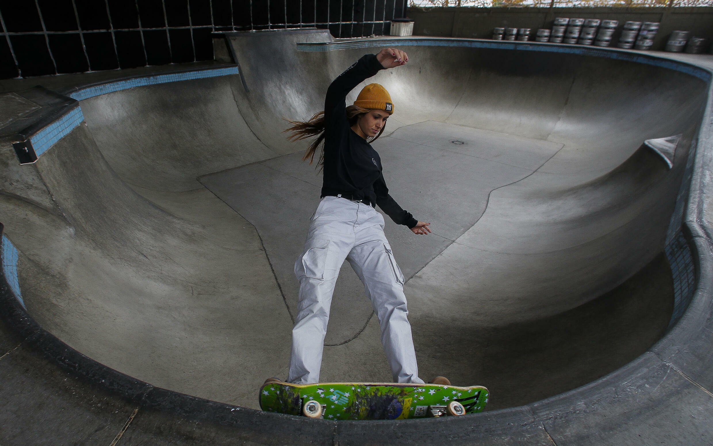 Brazilian skateboarder Dora Varella, who was on the Olympic team in Tokyo, says seeing all the young girls take up the sport is rewarding
