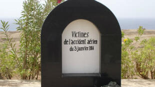 Stèle installée en Égypte à la mémoire des victimes du crash