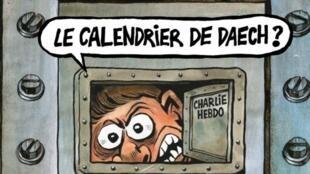 Portada del semanario satírico Charlie Hebdo, el 3 de enero del 2017, tres años después del atentado en la redacción.