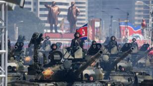 La Corée du Nord s'est abstenue, lors son défilé militaire, de montrer des ICBM.
