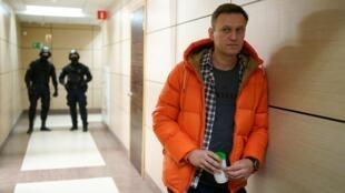 Navalny fell ill on a flight in Siberia last month
